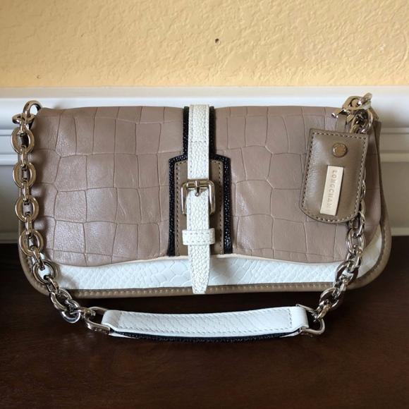 b6dc80f6d1 Longchamp Bags | Leather Chain Link Flap Shoulder Bag | Poshmark